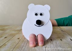 When the weather gets cold and snowy my daughter always gets out some of her favorite books about Polar Bear's at bedtime. She has a favorite called Polar Babies (affiliate) and reading it always gets us in the mood for a fun Polar Bear craft. These cute Polar Bear Finger Puppets are not only a …