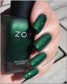The Polished Perfectionist: Zoya - Veruschka with a topcoat