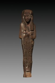 Shawabty of the Scribe Seti, 1350-1250 BC Egypt, New Kingdom, late Dynasty 18 (1540-1295 BC) - early Dynasty 19 (1295-1186 BC)   Cleveland Museum of Art