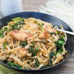 Thai-Style Stir-Fried Noodles recipe
