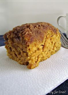 Pumpkin Coffee Cake - Crazy for Crust