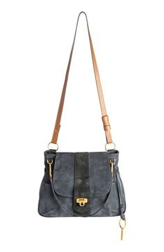 4f7cad7429c Shop for Chlo  Medium Lexa Suede Shoulder Bag