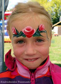 Rosen by Kinderschminken Traumzauber