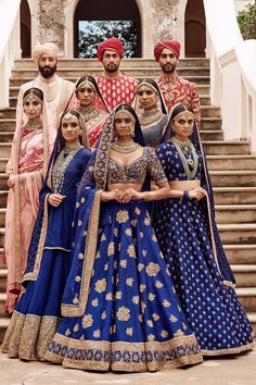 2019 Bridal Sabyasachi Lehenga Prices You Always Wanted To Know About - Call/WhatsApp for more details Purchase Indian Bridal Outfits, Indian Dresses, Indian Clothes, India Fashion, Look Fashion, Lehenga Color Combinations, Sabyasachi Lehenga Bridal, Lehenga Choli, Sarees