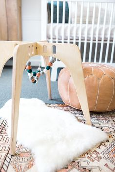 Neutral modern nursery ideas