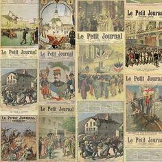 Tecido Adesivo Bobina 1,00 x 0,50m Jornal - Lemy Presentes - Loja Virtual