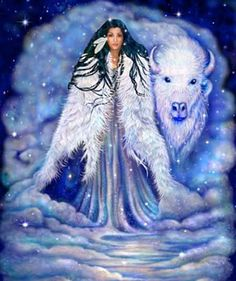 White Buffalo Calf Woman - Native American Ascended Master ...