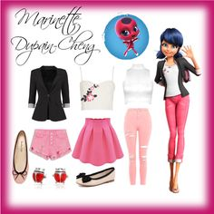Like my look? Anime Inspired Outfits, Disney Inspired Fashion, Character Inspired Outfits, Mode Outfits, Girl Outfits, Fashion Outfits, Fasion, Nerd Fashion, Punk Fashion