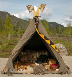 Yes, please.  I would very much like this tent and everything in it :D
