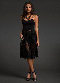Lace Bottom Tank Dress SKU: 10207799