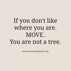 Move to happiness
