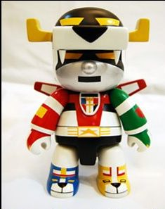 Voltron gone all Munny and Qee