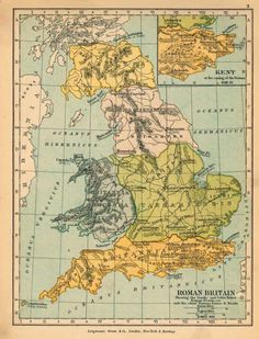 Britain, as it actually was divided up under Roman rule. 21 Maps That Will Change How You Think About Britain