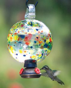 Carnival Round Hummingbird Feeder