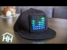 How to Make a Customizable LED Display Hat - YouTube