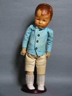 Käthe Kruse Puppe Hampelchen um 1932 | eBay