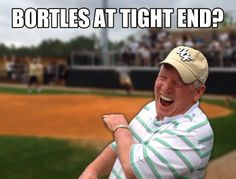 UCF Football Meme - George O'Leary Ucf Football, Ucf Knights, Tight End, Baseball Cards, Memes, Sports, Hs Sports, Excercise, Animal Jokes