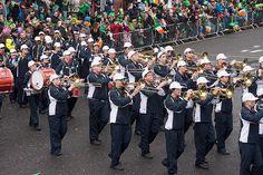 CORONADO HIGH SCHOOL MARCHING BAND AT THE 2015 DUBLIN ST. PATRICK'S DAY PARADE-102347 [The Streets Of Ireland]