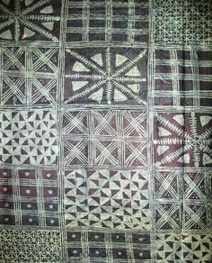 Yoruba Textile-  cool block print textile design idea