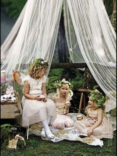 I want to have a fairy tea party!!!