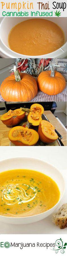Cannabis Infused Pumpkin Thai Soup (Gluten-Free, Dairy-Free, & Vegan)