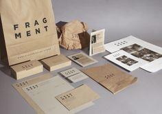 Identidad corporativa pequeña empresa    Título: Fragment    Agencia/Estudio: Klaudia Laspalas    Cliente: Fragment Store    Núm: 54