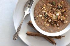 Winter Chai Porridge - The Fit Foodie