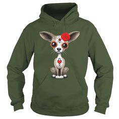 Red #Chihuahua Puppy, Order HERE ==> https://www.sunfrog.com/Pets/129703591-838203369.html?49095, Please tag & share with your friends who would love it, #xmasgifts #christmasgifts #birthdaygifts  #chihuahua art, chihuahua care, chihuahua training #chemistry #rottweiler #family #posters #kids #parenting #men #outdoors #photography #products #quotes