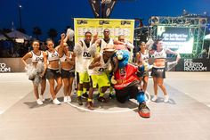 Want to play for $20K?  Sign up your #3x3 roster on www.3x3planet.com, enter a #HoopItUp event, and you might find yourself at the FIBA 3x3 World Tour North American Stop!  It's amazing the places 3x3 will take you. www.hoopitup.com