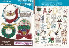 Metallic Christmas Anita Goodesign Embroidery Design Bonus CD | eBay