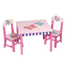 Guidecraft+Butterfly+Table+and+Chairs