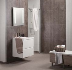 How to Compare Cultured Stone & Laminate Bathroom & Shower Wall Panels –Innovate Building Solutions Bathroom Wall Panels, Shower Wall Panels, Diy Shower, Shower Tub, Shower Base, Diy Bathroom, Bathroom Layout, Bathroom Fixtures, Houses