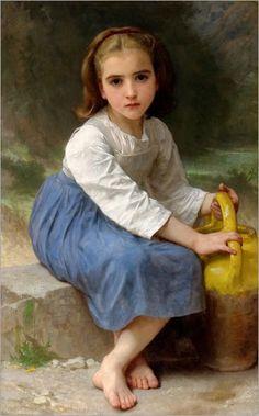 William-Adolphe_Bouguereau_(1825-1905)_-_Jeune_Fille_A_La_Cruche_(1885)