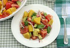 Golden Beet Summer Salad