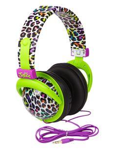 Pink wireless headphones for ipad - cute unicorn headphones for girls
