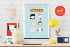 blog do math brasilia free printable snoopy charlie brown peanuts poster