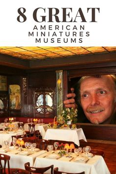 You definitely won't want to miss a visit to these mini museums if you can't get enough of dollhouses or miniatures!
