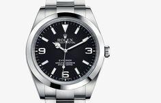 Explorer #rolexwatches #rolex #menswatches  #luxurywatches #GEARYS http://www.GEARYS.com/rolex