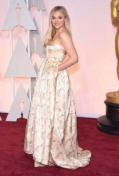 Le tapis rouge des Oscars 2015: Chloé Grace Moretz