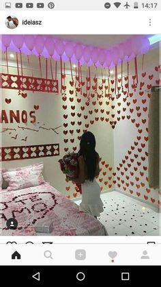 37 Super Ideas For Birthday Boyfriend Ideas Surprise Valentines Day Birthday Surprise For Husband, Boyfriend Birthday, Valentines Day Party, Valentine Gifts, Funny Boyfriend Gifts, Boyfriend Ideas, Surprises For Husband, Romantic Surprise, Diy Gifts