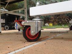 Killerspin MyT Street Edition Wheels #killerspin #weatherproof #outdoor #pingpong #tabletennis