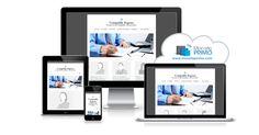Un design de site Web structuré et épuré pour mettre en évidence votre professionnalisme.