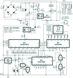 Digital fan speed control circuit design for fans based induction motor. The speed can be varied wide range since it can alter the voltage input of the fan Electronic Circuit Projects, Electrical Projects, Electronic Engineering, Electrical Engineering, Arduino Projects, Electronics Components, Diy Electronics, Electronics Projects, Digital Technology