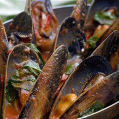 Try this Italian Mussels recipe by Chef Peter Evans. This recipe is from the show FISH.
