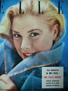 Grace Kelly - Elle France 1956
