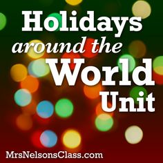 "This was an interesting unit set-up on ""visiting"" countries around the world and viewing their holiday traditions. While it may have (literally) taken a tourist approach, it has some good base ideas for introducing the unit, as well as interesting activities regarding a passport or suitcase for the students to record information they've learned."