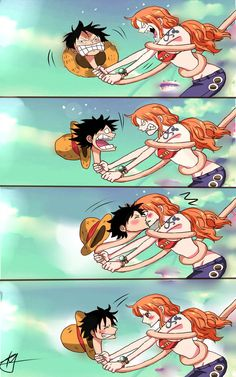 ✔ Couple Wallpaper Casal One Piece One Piece Anime, Nami One Piece, One Piece Ship, One Piece Comic, One Piece Fanart, Luffy X Nami, Zoro, Nalu, Arte Fairy Tail