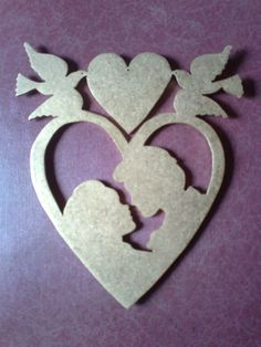 Love Scroll Saw Patterns Free, Wood Patterns, Wood Crafts, Diy And Crafts, Arts And Crafts, Wood Cutouts, Kirigami, Woodworking Crafts, Wood Carving