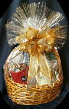 f8fd35c17cc8 Corporate Gift Basket with Marketing Materials (see coffee mug on lower  left with company name