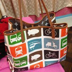 Transportation diaper bag via @miacarmela